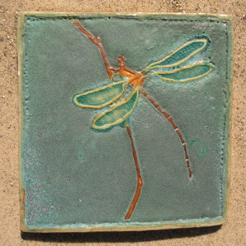 Damsel Fly Tile
