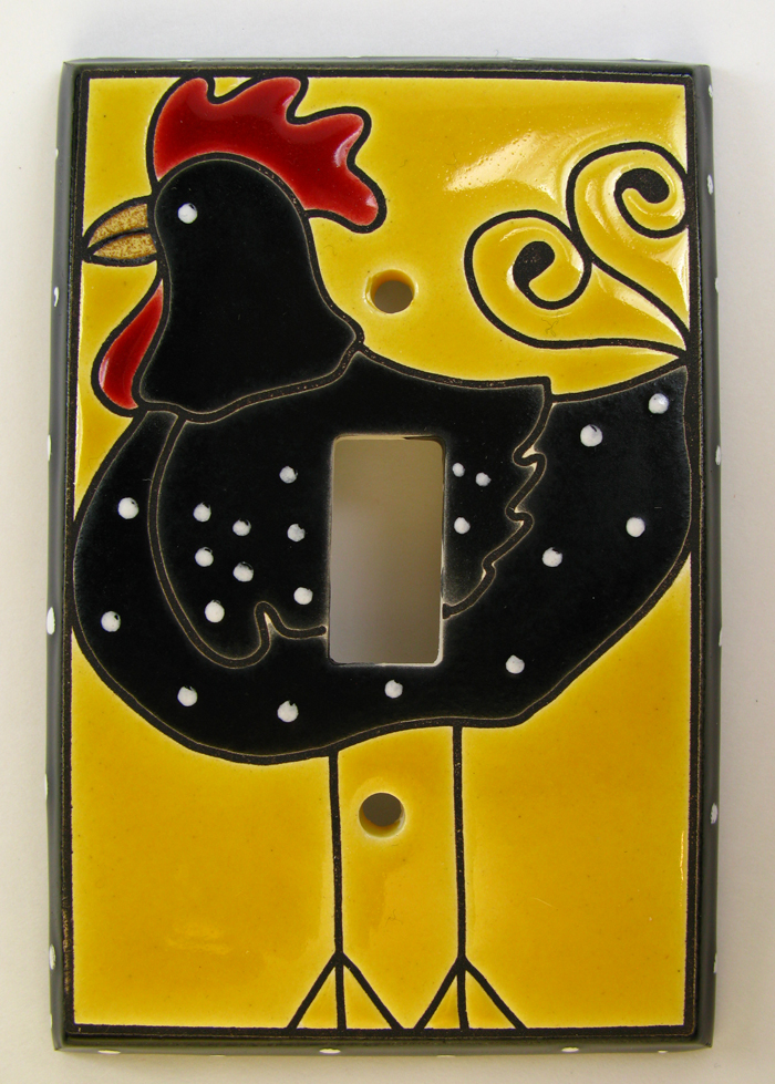 Funky Chicken Switch Plate