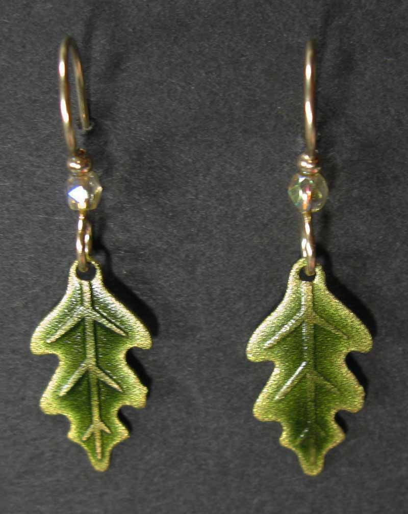 Oak Leaf Small Earrings