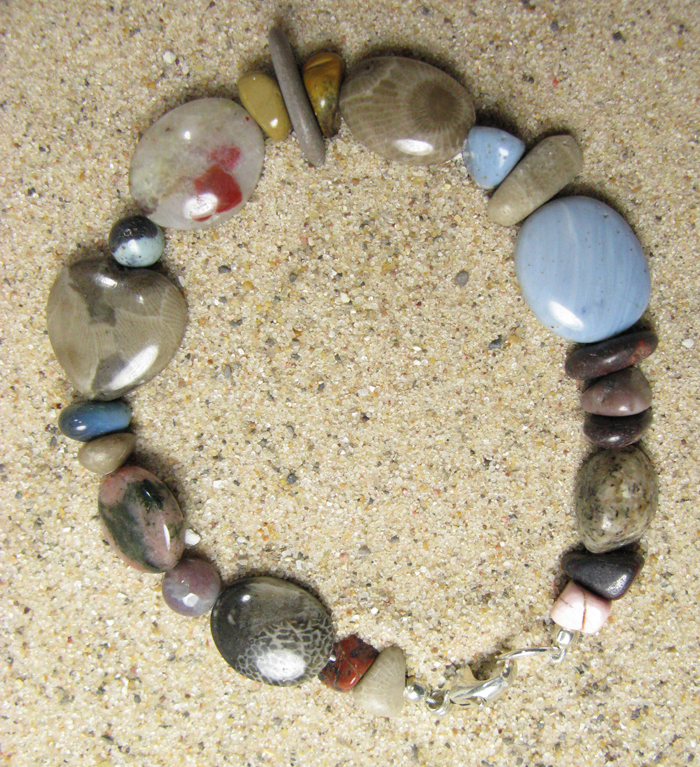 A Walk on the Beach Stone Bracelet