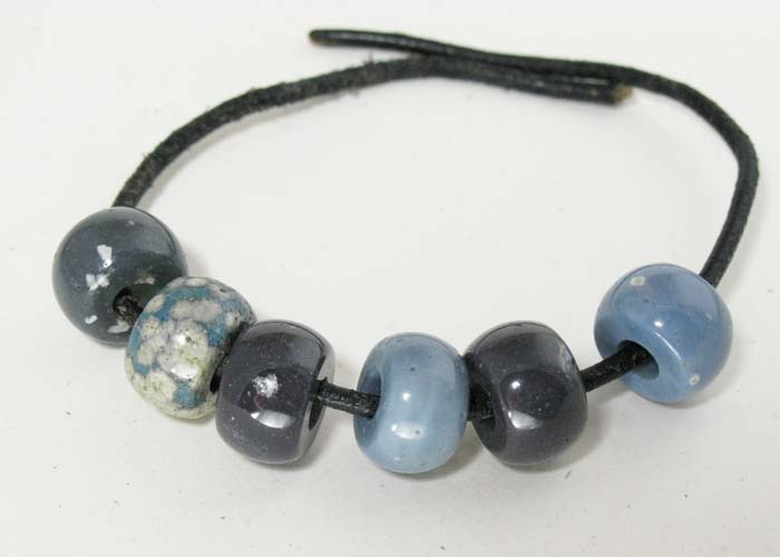 Pandora Bead in Leland Blue Stone