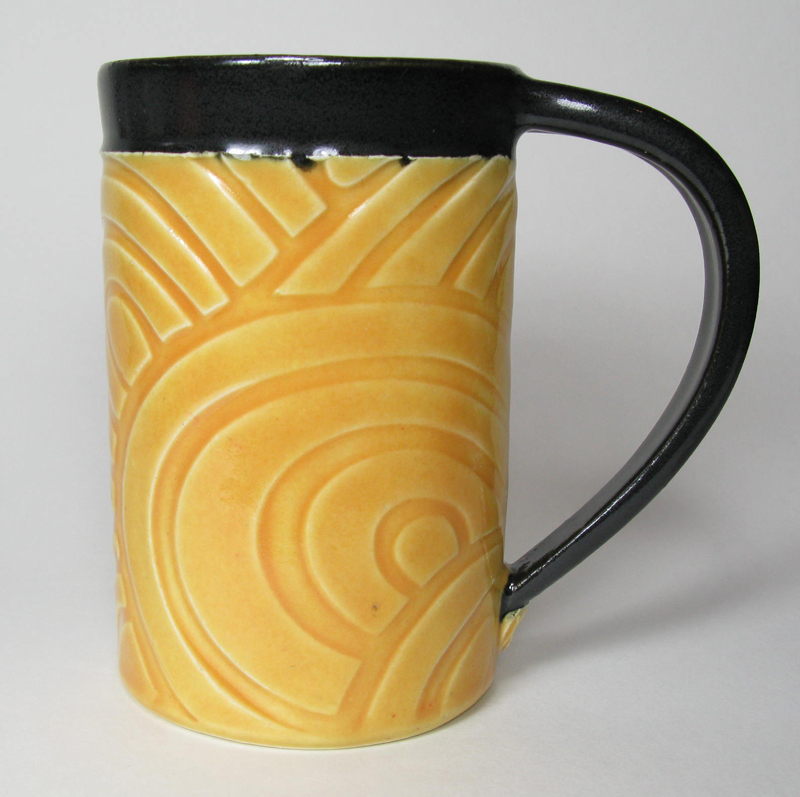 Ceramic Mug in Butter Yellow