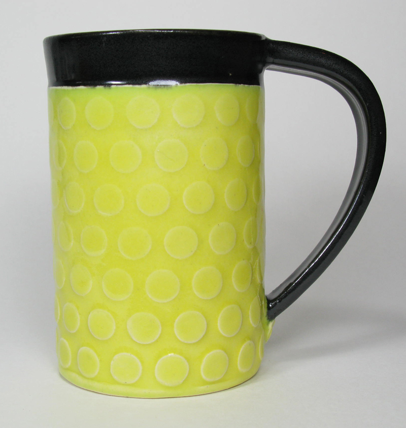 Ceramic Mug in Lemon Yellow
