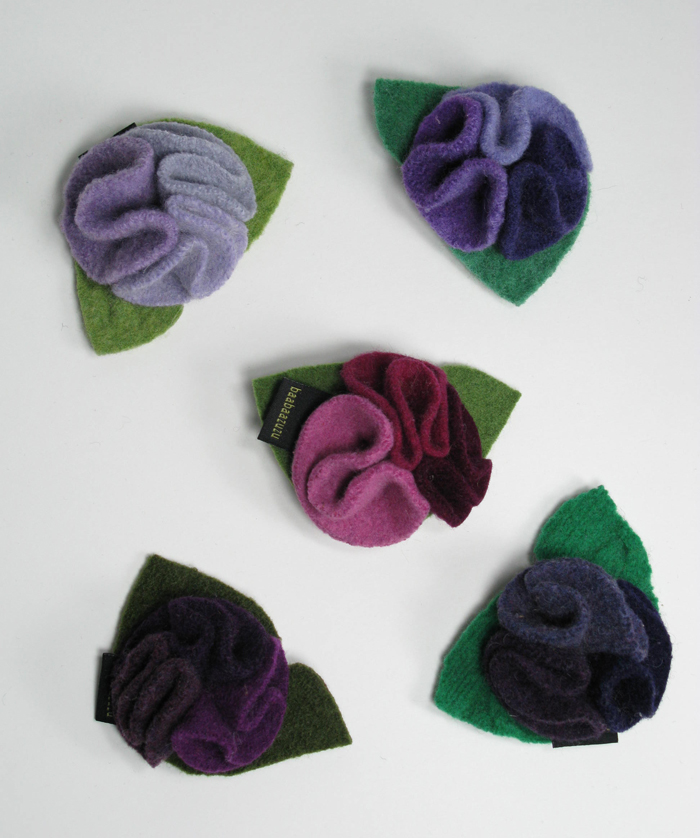 Recyled Wool Mumsy Pin