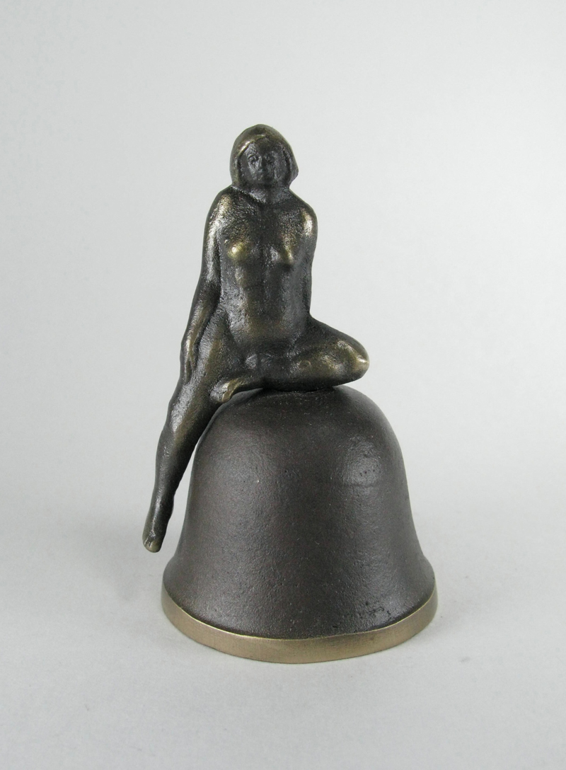 Bronze Bell - Seated Nude
