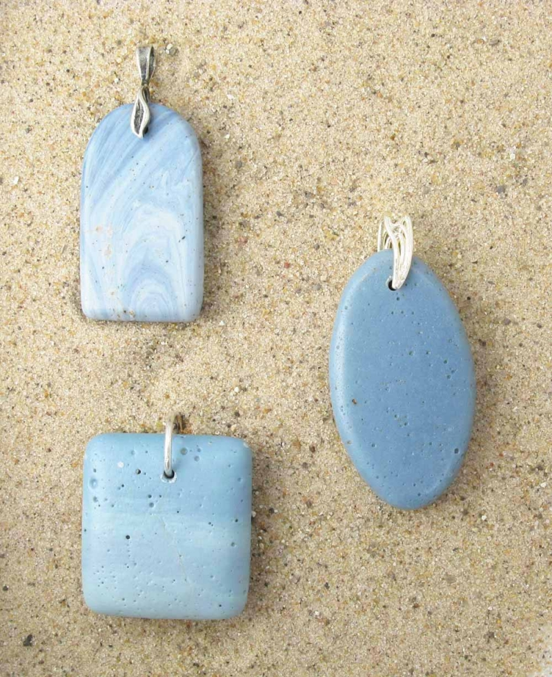 Leland Blue Hand-Polished Pendant