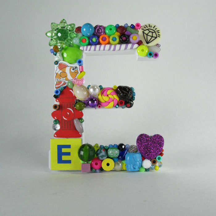 Toy Letter E