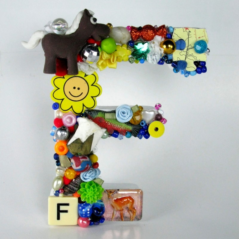 Toy Letter F
