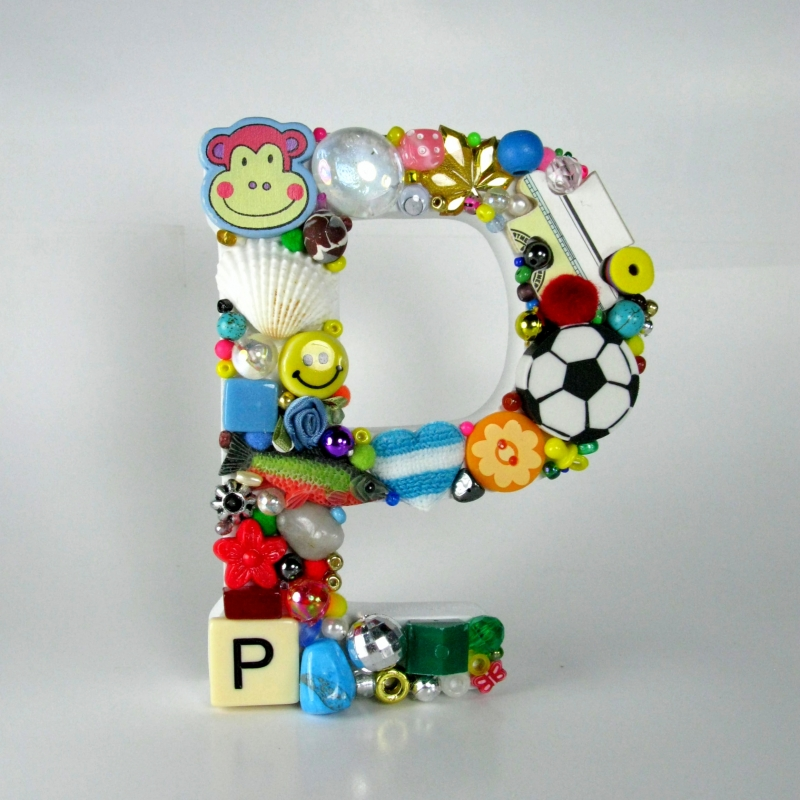 Toy Letter P