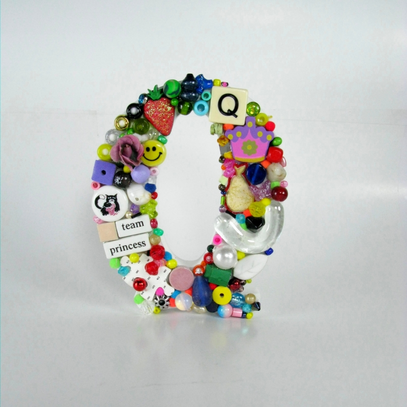 Toy Letter Q