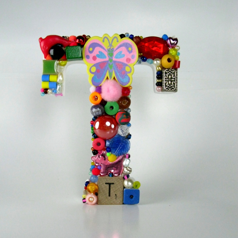 Toy Letter T