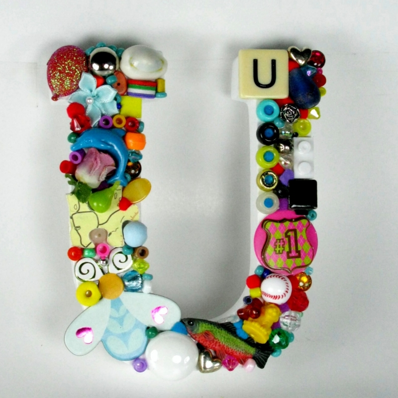 Toy Letter U