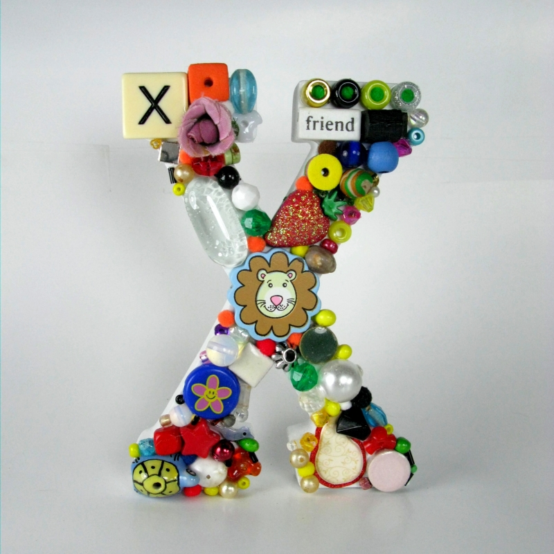 Toy Letter X