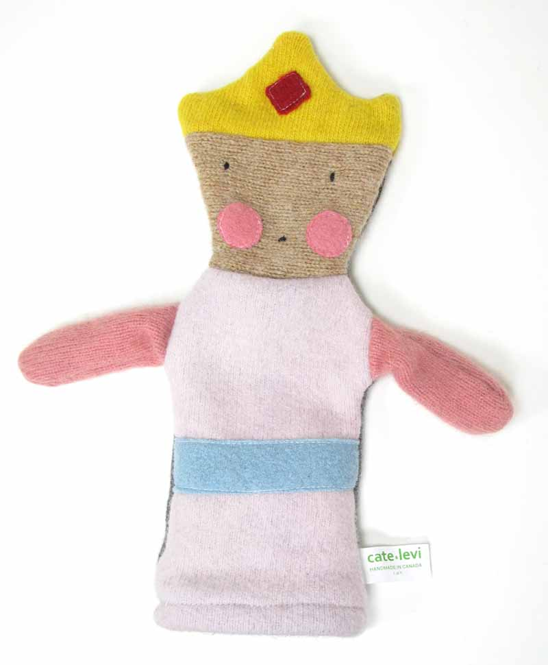 Reclaimed Wool Puppet - Princess