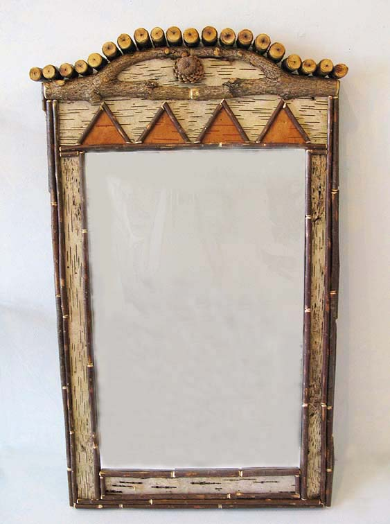 Birch and Twig Mirror