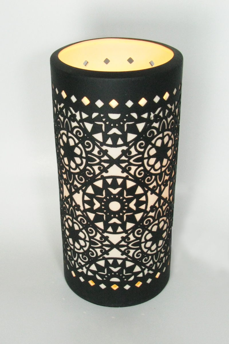 Porcelain Lamp - Casablanca