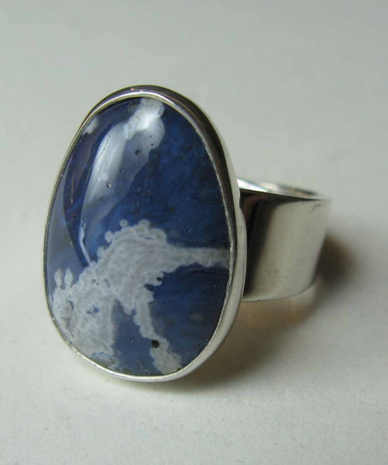 Leland Blue Stone Ring