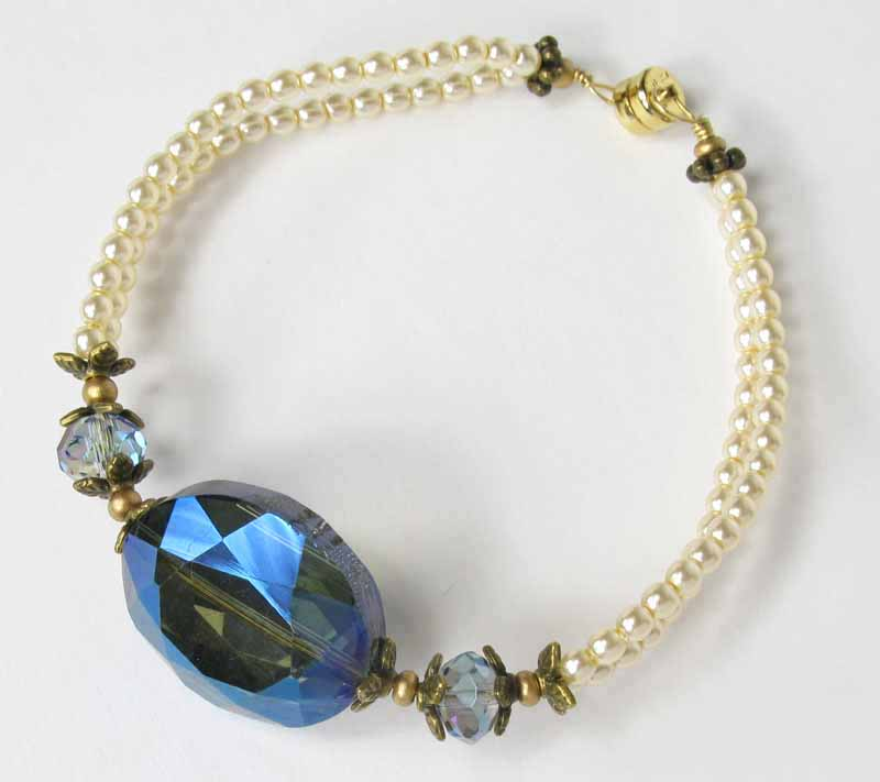Faceted Crystal Bracelet