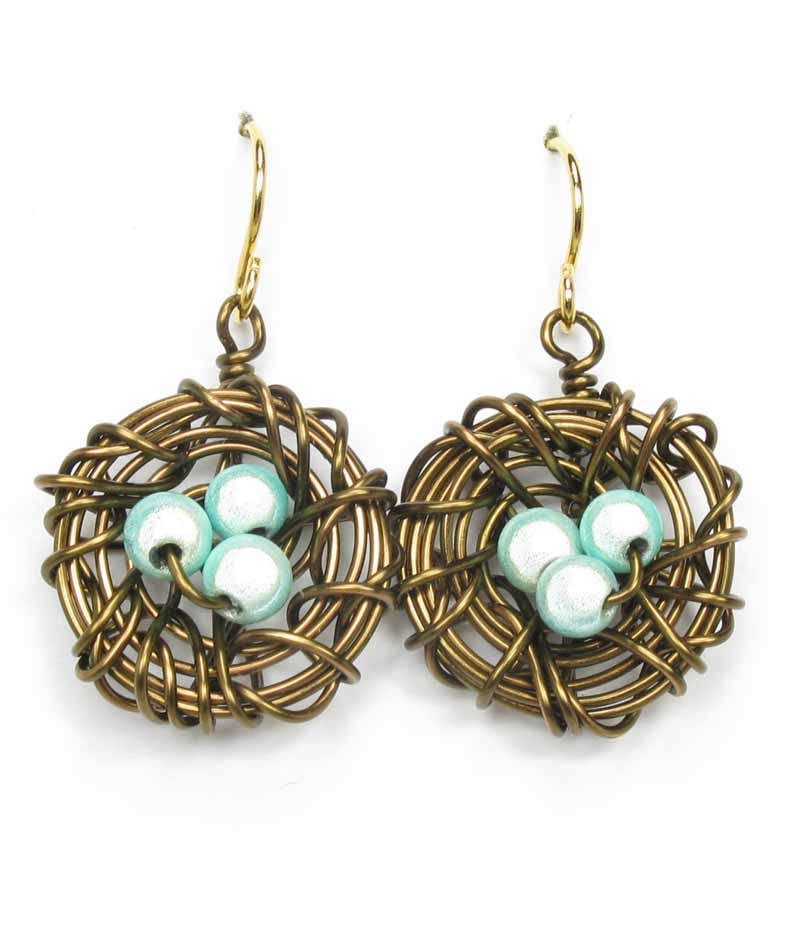 Robin's Nest Earrings