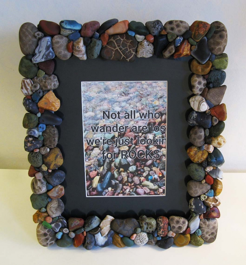 Michigan Beachstone 8x10 Picture Frame