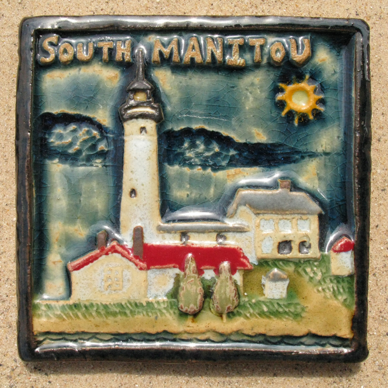 South Manitou Light Tile