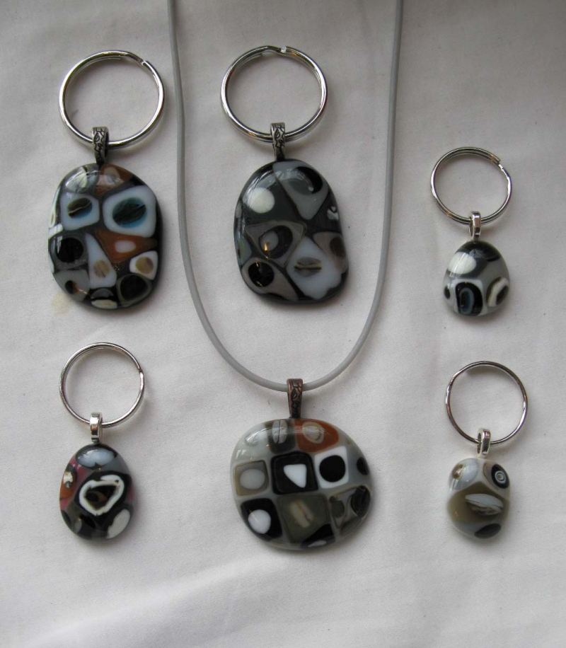 Glass Petoskey Pendants