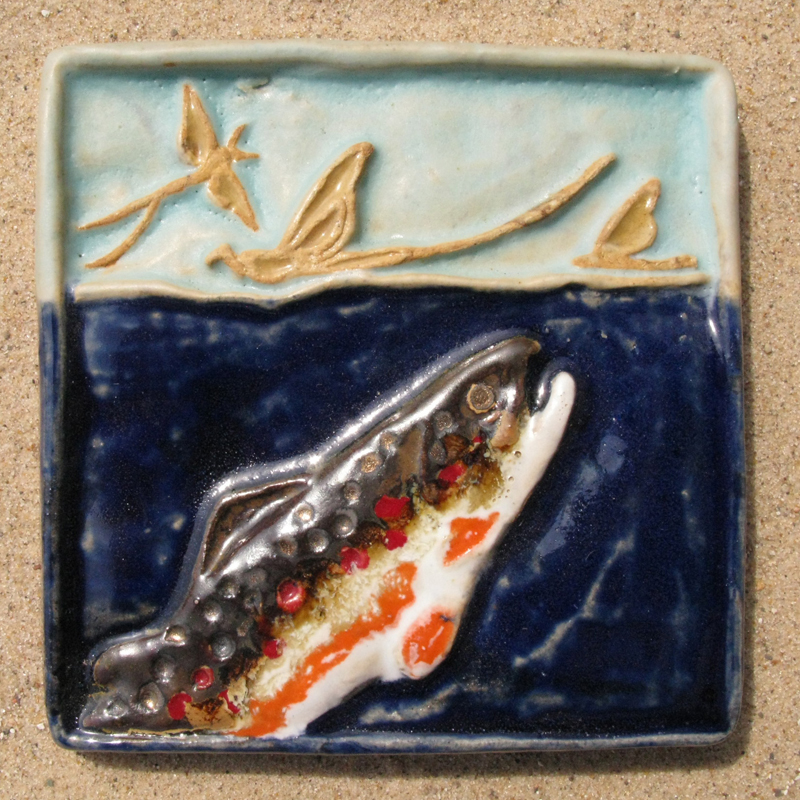 Brown Trout Tile