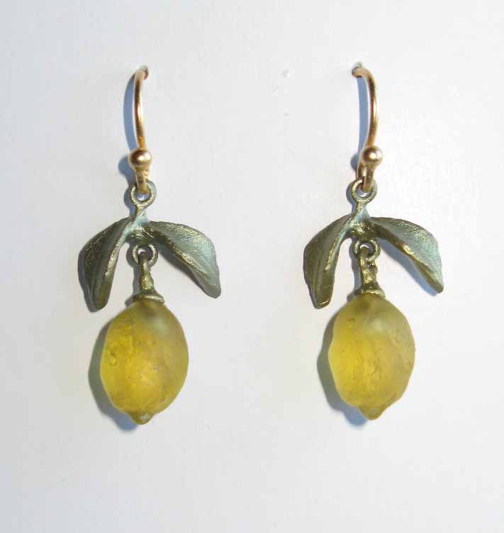 Dainty Lemon Drop Earrings