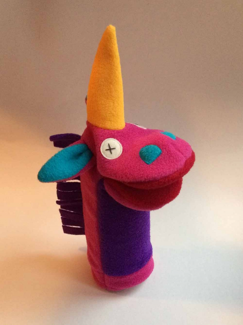 Softy Unicorn Puppet